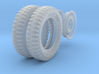 1-24 Tire And Rim 700x16 3d printed