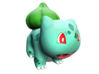 Bulbasaur 3d printed A painted 3-D Model to base your own painting after
