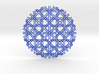 Tetragonal Necklace 3d printed