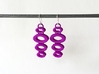 OVO Earrings - dangle earrings 3d printed Colorful Earrings