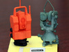 Geodimeter 600 robot Christmas 1/6th scale 3d printed with Wild T3 model