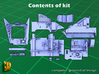 ZSU-23-4 Shilka driver compartment (HONG) 3d printed ZSU-23-4M driver compartment - all parts