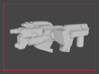 """""""ZONEFINDER"""" Transformers Weapon (5mm post) 3d printed"""