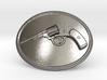 Nagant Belt Buckle 3d printed