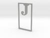 Bookmark Monogram. Initial / Letter  J  3d printed
