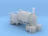 009 Industrial Bagnall Body (4mm scale) 3d printed