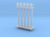 5fach-Hl-Signal Vorsignal Mit Korb Und Mast 3d printed