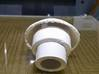Trache Cap For White Valve 3d printed home printed cap on speaking valve