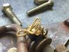 Bespoke Initials Ring  3d printed My original LW ring.