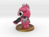 Axe Robot Pink 3d printed