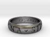 Size 12.5 Sir Francis Drake, Sic Parvis Magna Ring 3d printed