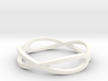 Aeon Double Infinity Ring Size 10.75 3d printed For Crushes