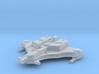 Space Commie Cuttlefish Interceptor 3d printed