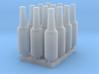 Beer Bottle LongNeck 330ml- 1:24 12ea Ver 2 3d printed