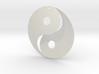 Yin Yang Pendant 3d printed