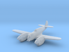 Curtiss P-40 Twin (Proposed) 1:285 x1 FUD 3d printed