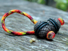 Spiro Begleri Bead 3d printed Paracord and O-rings not included