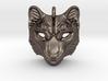 Snow Leopard Pendant 3d printed