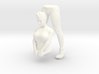 First CyberGirl 3d printed