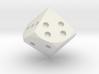 Tetragonal trapezohedron D8 3d printed