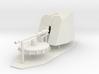 1:96 76mm OTOBREDA Main Deck Gun 3d printed