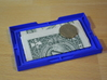 Card & Coin Wallet w/ diamonds 3d printed