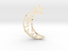 Crescent- pendant 3d printed