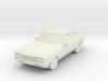 1:87 Ford capri mk2 ho scale hollow 1-mm 3d printed