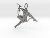 Ninja Pendant 3d printed