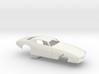 1/8 Pro Mod 73 Camaro Flat Hood 3d printed