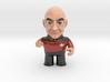 Picard Star Trek Caricature 3d printed Captain Picard Star Trek Caricature