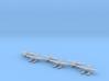 Aichi E16A1 Zuiun (Paul) 6 airplanes 1/700 3d printed
