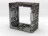 Menger Mondrian Matrix Ring 3d printed