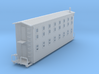 Bunk House Car Z Scale 3d printed Logging Bunkhouse car z scale