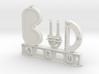 Bud Nametag 3d printed