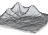 Mountain Landscape #1 3d printed