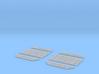 DeAgo Millennium Falcon grille covers ESB / TFA 3d printed