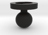Garmin Edge Female Mount To 1 Inch Ball Male 3d printed
