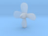 Titanic Propeller 4-Bladed - Scale 1:350 3d printed