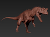 Ceratosaurus middle size 3d printed