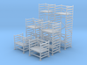 N Scale Scaffolding 6pc 3d printed