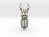 Stag Beetle Pendant 3d printed