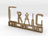 Craig Nametag 3d printed