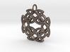 Celtic Knotwork Medallion Pendant 3d printed
