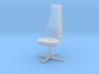 TOS 2.0 Chair - 1/32 Bridge Model 3d printed Frosted Ultra Detail