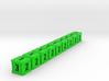 Dice / Crates - Full colour - Green (9pcs) 3d printed