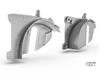Sand Scorcher Inner Arches, Rear 3d printed Rear Inner Arch designs