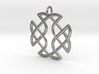 Celtic Square Cross Pendant 3d printed