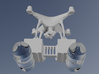 DJI Phantom 4 Dual Box Search and Rescue Box Kit 3d printed SAR Kit designed to float with 2L plastic bottles