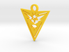 Team Instinct Keychain - Pokemon GO 3d printed